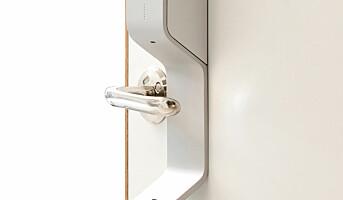 Automatisk desinfisering av dørhåndtak