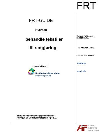 <b>FRT-guiden i norsk språkdrakt.</b>