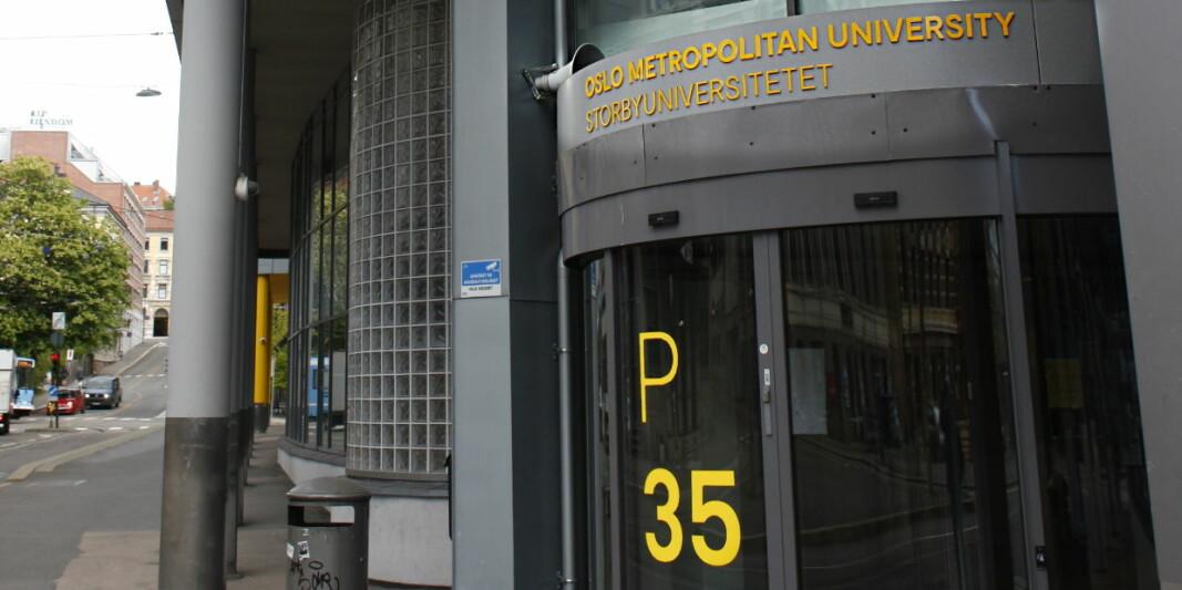 OsloMet – Storbyuniversitetet tilbyr to emner som omhandler ledelse innenfor Facility Management. Ill.foto fra et av OsloMets bygg.