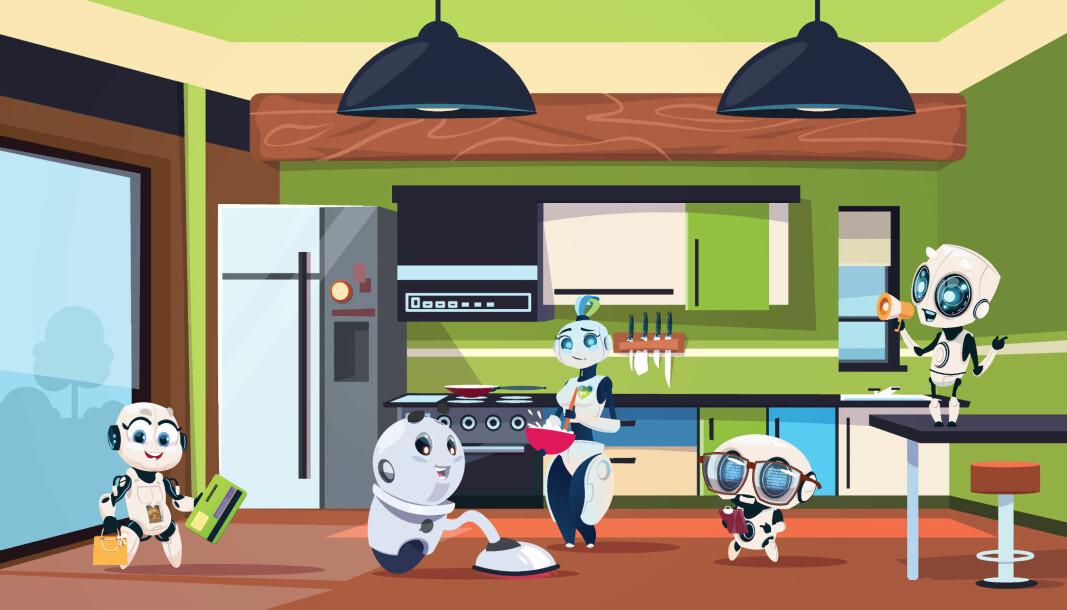 Styrken ved å ha roboter, er hvis de er i stand til å frigjøre tid som renholderen kan bruke til oppgaver robotene ikke takler.