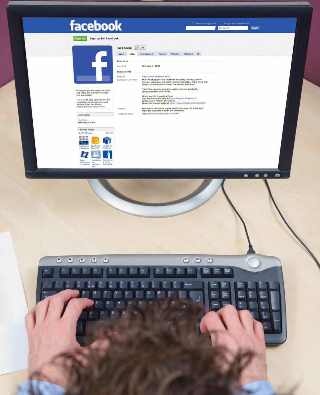 Facebook skal ha brukt fagorganisering som et eksempel på ord en arbeidsgiver kan bruke for å fjerne meldinger fra de ansattes meldingsstrøm.