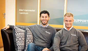 Ungt firma vil ta Norge med storm