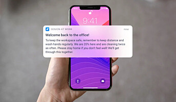 App ser hvor kolleger har vært