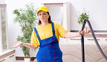 50% flere renholdere enn øvrige arbeidstakere har Covid-19
