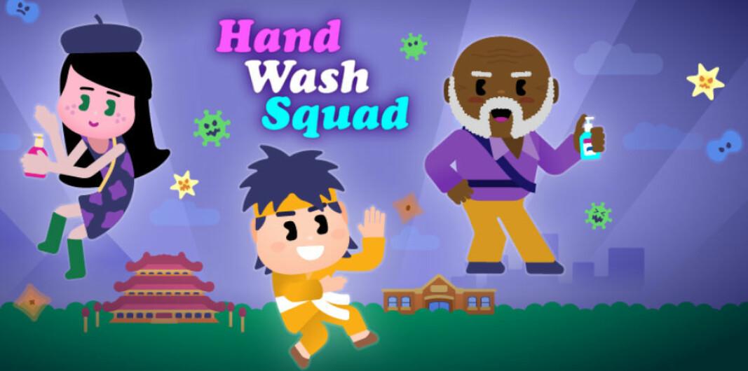 Mobilspillet skal hjelpe 4-8-åringer med å forstå når og hvordan hendene bør vaskes.
