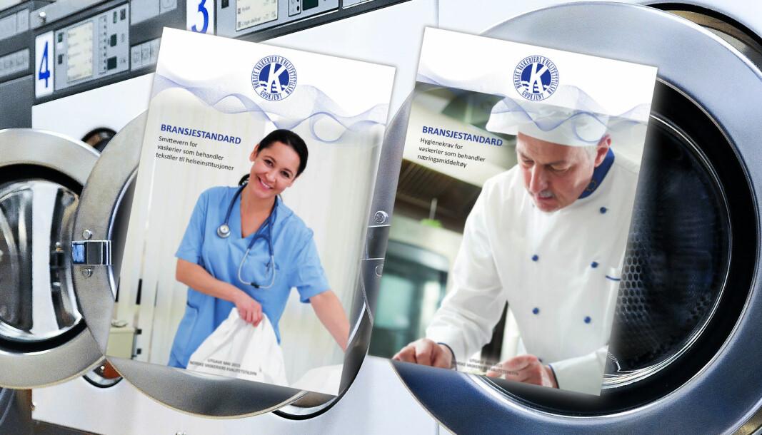 NVK er i ferd med å revidere standardene for vask av helsetøy og næringsmiddeltøy.