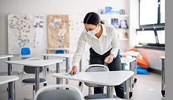 Alvorlige renholdsfeil i enkelte skoler