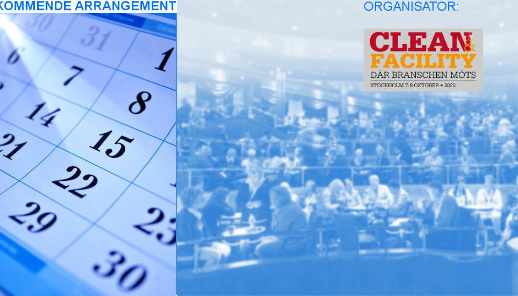 Bransjemessen Clean & Facility 2020 skulle gått av stabelen 7.-8. oktober.