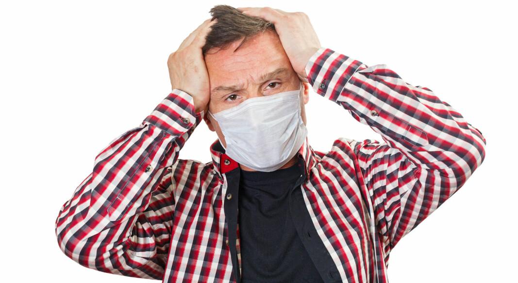 Nesten 5000 svenske arbeidstakere er innrapportert til det svenske arbeidstilsynet, som mener de er blitt smittet på jobben og har tatt skade av det. 21 av disse er renholdere.