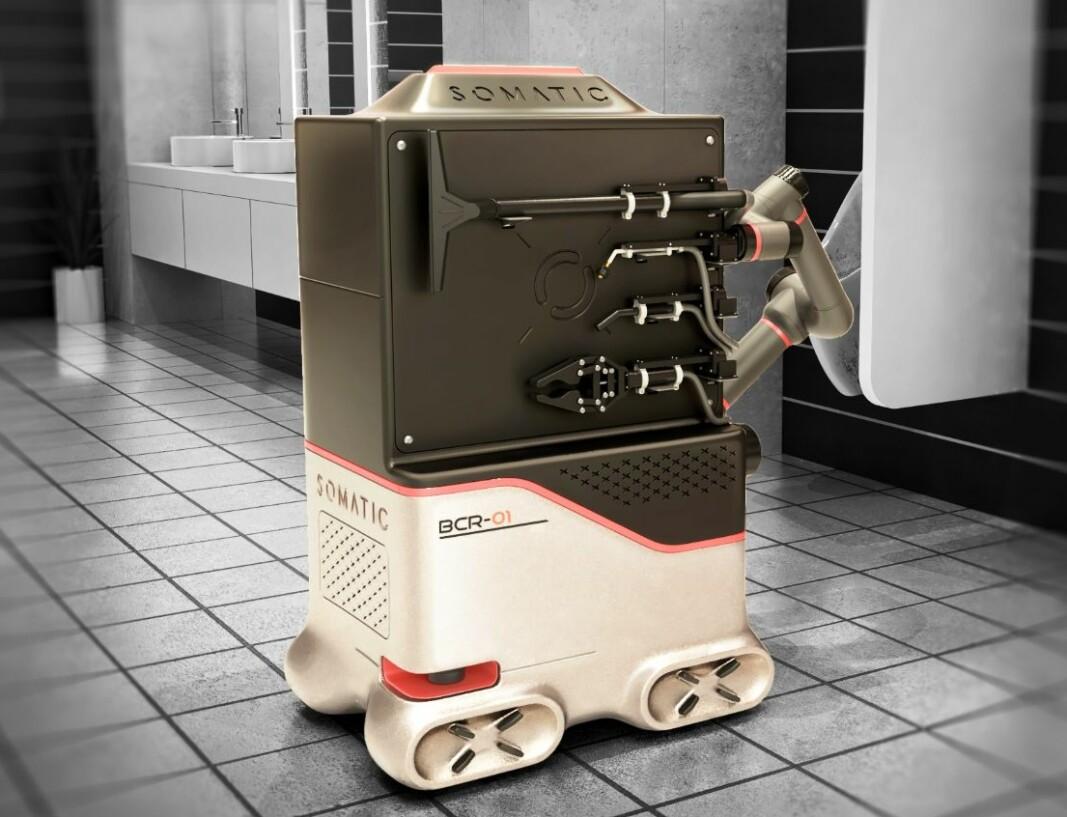 Roboten skal blant annet kunne vaske og desinfisere.