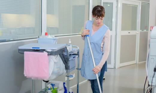 Hvor fysisk krevende er det å rengjøre?