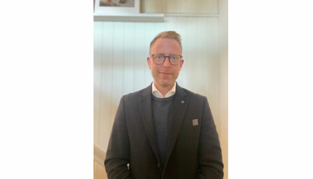 Morten Schjetne skal jobbe ut mot grossister og sluttkunder.