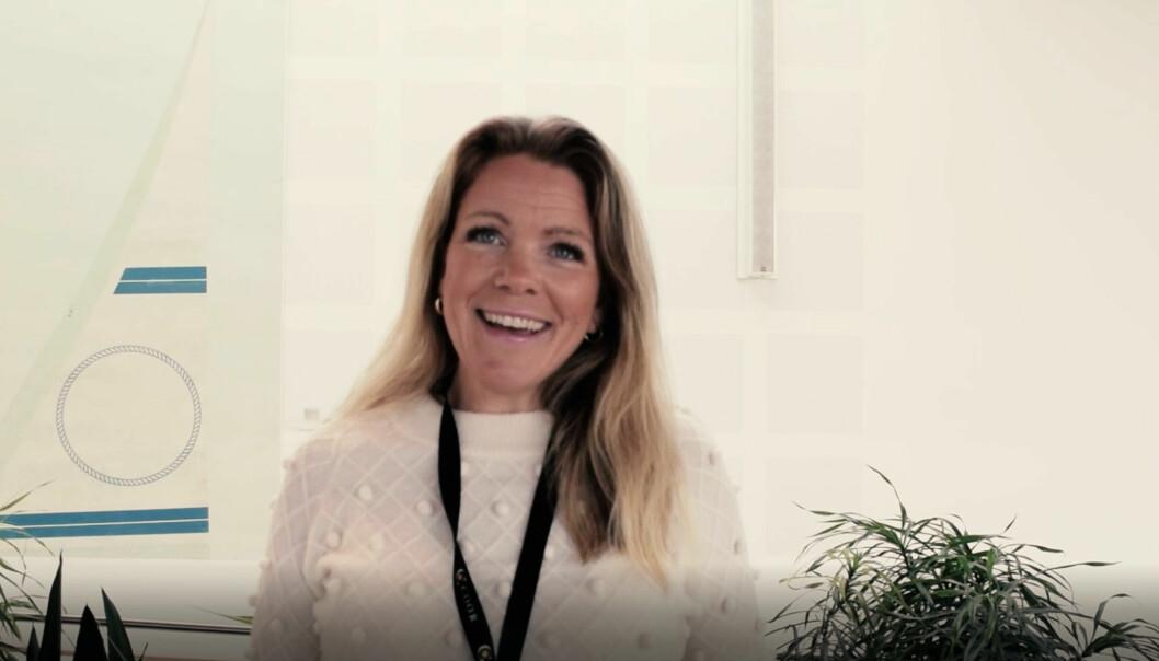 Vinner av Årets Servicehelt i 2020: Renate Haugland, fagspesialist i Coor.