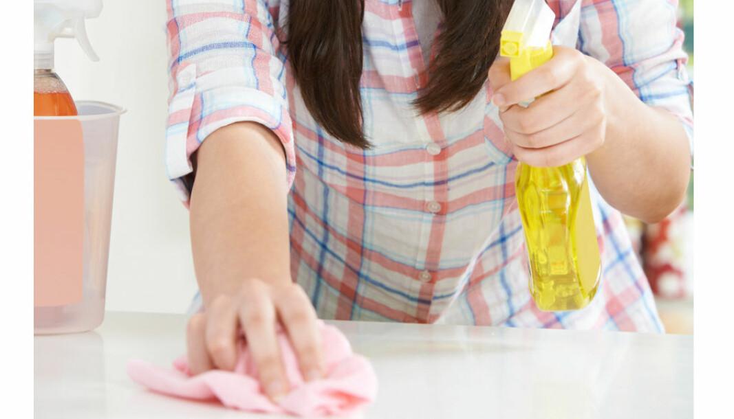 I en tid der de fleste renholdere oppfatter bruk av sprayflasker som både unødvendig til de fleste formål, og uønsket pga. astma- og allergiproblematikk, setter Vaskehjelp.no blant annet som krav at kundene må stille med kjøkkenspray.