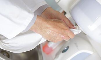 Blåser i håndtørk