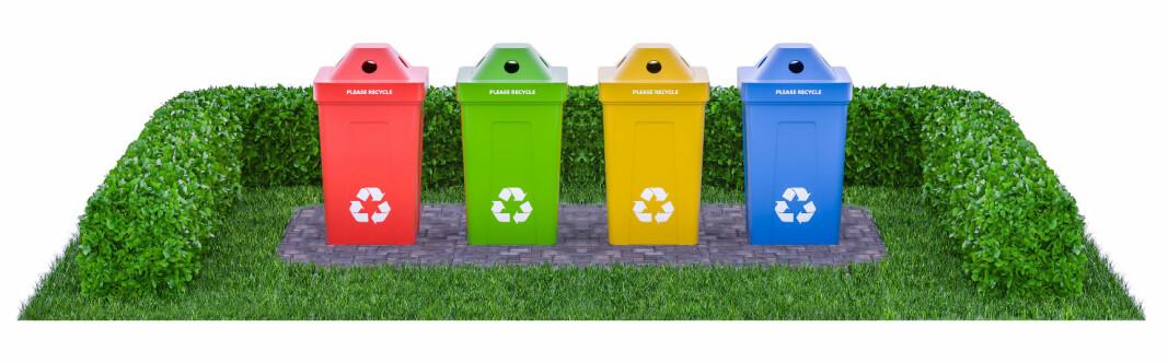 Et rent og ryddig avfallsrom reduserer risikoen for at folk bare kaster ting på gulvet.
