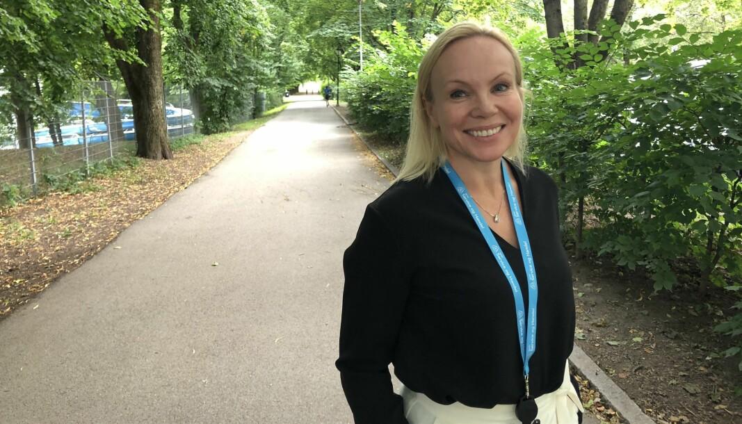 – Den nye veilederen er viktig å etterleve for å ivareta smittevern i handelsnæringen, sier Linda Vist, bransjedirektør for Handel.