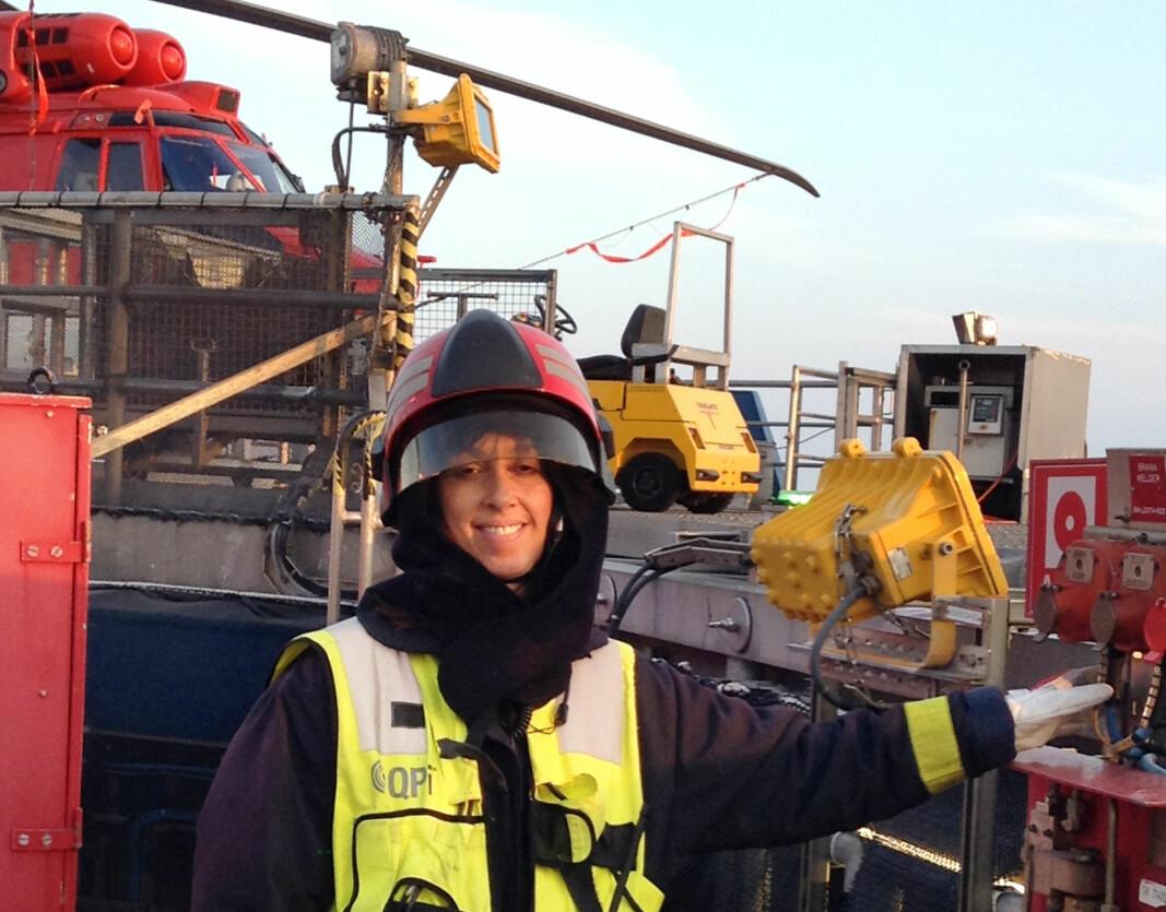 Pandemien har krevd mye nytenkning, opplyser renholdsoperatør Laila Garvik i Equinor.