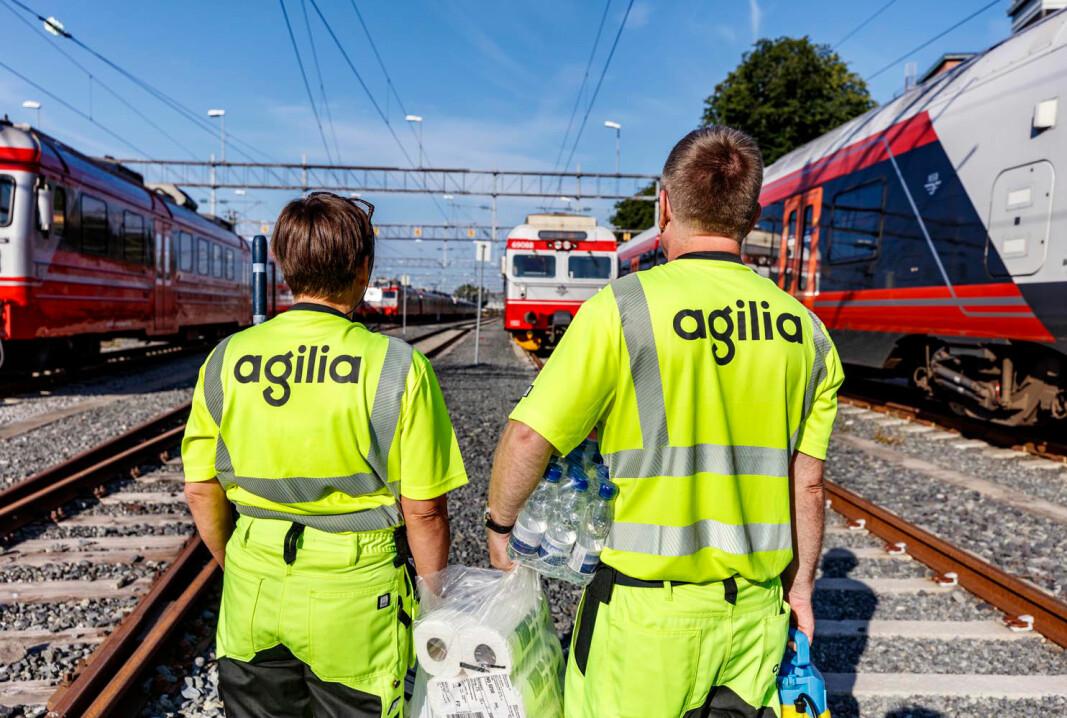 NSB Trafikkservice bytter navn til Agilia desember 2020, og vil fortsatt levere de samme tjenestene som tidligere.