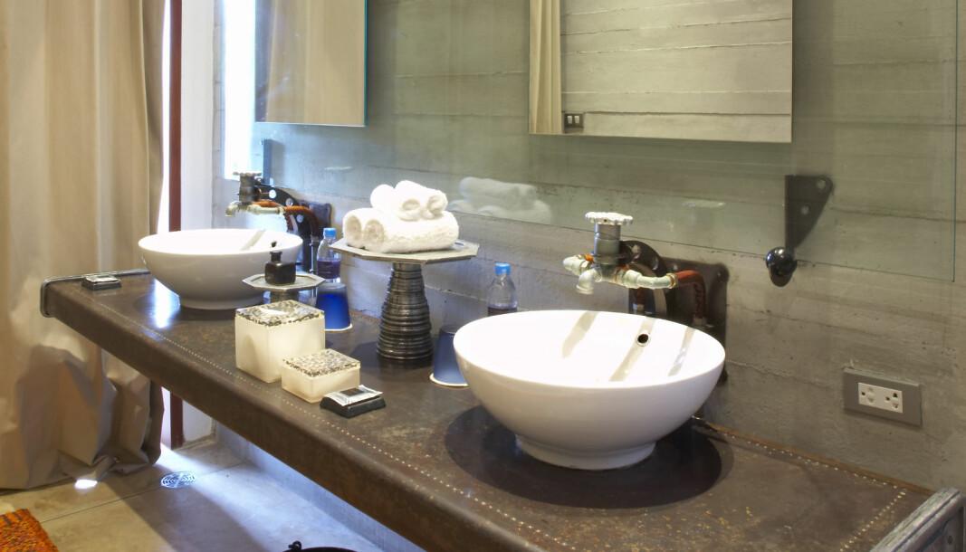 I ethvert toalettrom er det mange potensielle smittespredende flater.