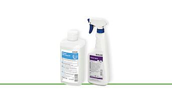 Desinfeksjon testet mot SARS-CoV-2