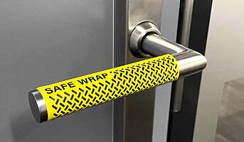 Selvklebende antivirus-merker