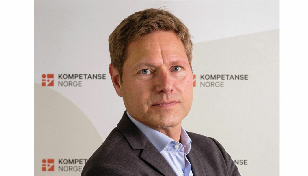 Direktør i Kompetanse Norge, Sveinung Skule.