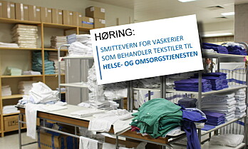 Høring om ny vaskeristandard