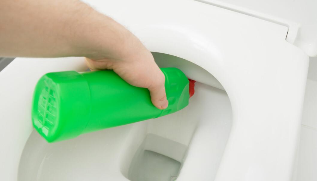 Overraskende mange rengjøringsmidler for toalett har liten effekt.
