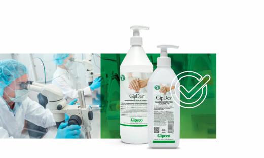Alkoholfri desinfeksjon testet på SARS-CoV-2