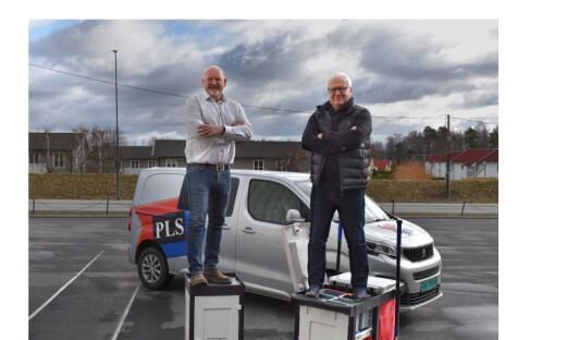 Nye vogner i resirkulert plast