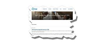 Jeff Gravenhorst blir styreleder i SSG