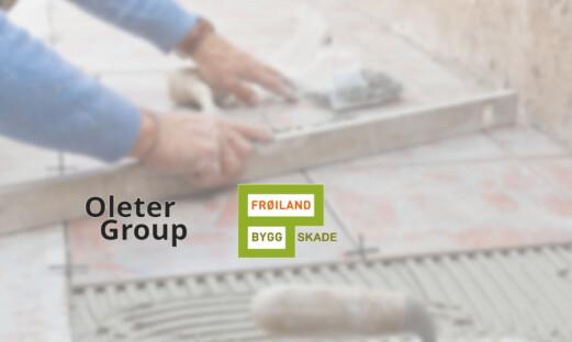 Oleter Group og Frøiland Bygg Skade inngår partnerskap