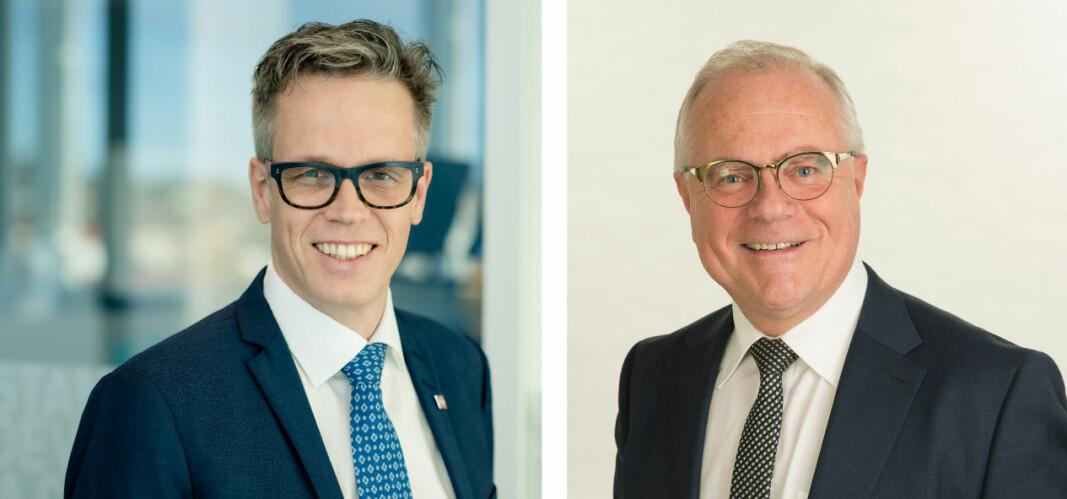 Montasje som viser Jacob Mehus (administrerende direktør i Standard Norge) og Johnny Haugland (daglig leder i Ren Fordel).