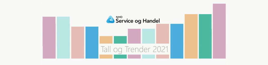 NHO Service og Handel har lagt fram sin årlige statistikk Tall og trender.