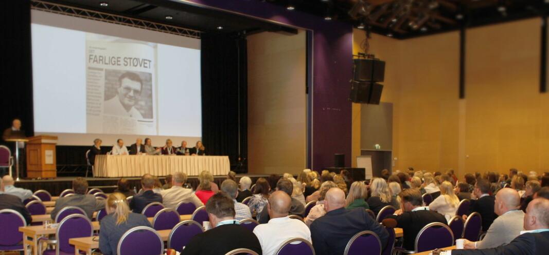 Arkivbilde fra én av mange tidligere NFSR-aktiviteter (årskonferanse på Lillehammer i 2018).