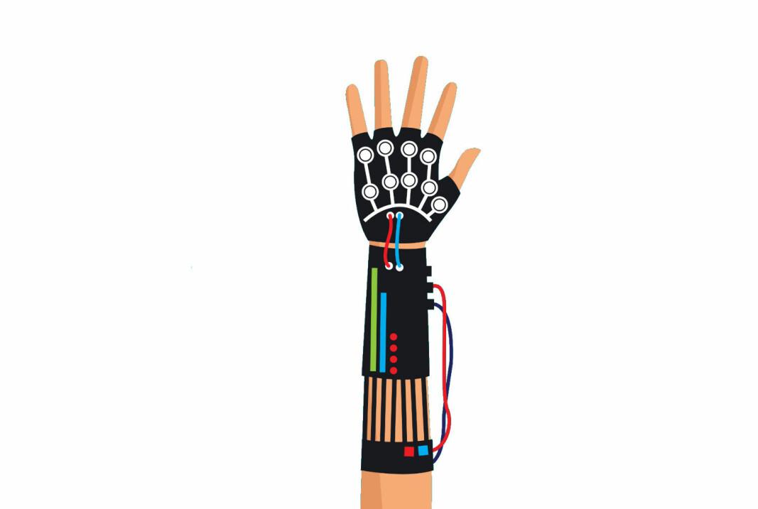 I industrien består eksoskjeletter ofte av seler, hansker eller lignende som festes til kroppen og gir økt muskelkraft.