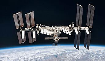 NASA skal etablere test-vaskeri på romstasjonen