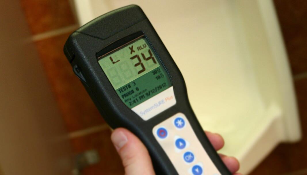 ATP-målere måler mikroorganismer, men har noen fallgruver og sier ikke noe om hvilke typer.