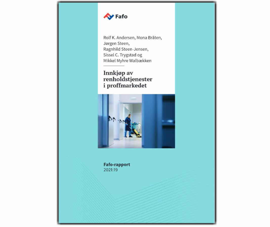 Det er et spørsmål om innkjøpere klarer å avdekke om de har med en useriøs tilbyder å gjøre, poengteres det i Fafo-rapporten.