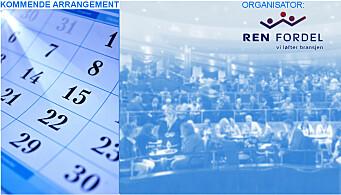 Nå kan du melde deg på til Ren Fordels årskonferanse