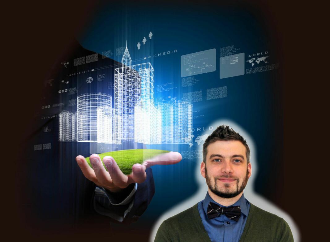 Stephan Soos har sin ekspertise innenfor arbeidsplasskonsepter.