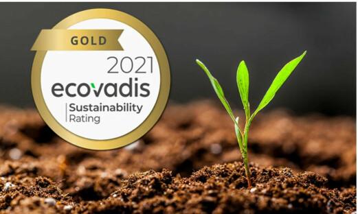 Coor tildeles gull av EcoVadis