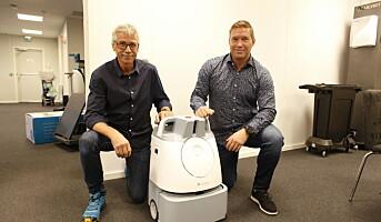 Stor-stand med roboter