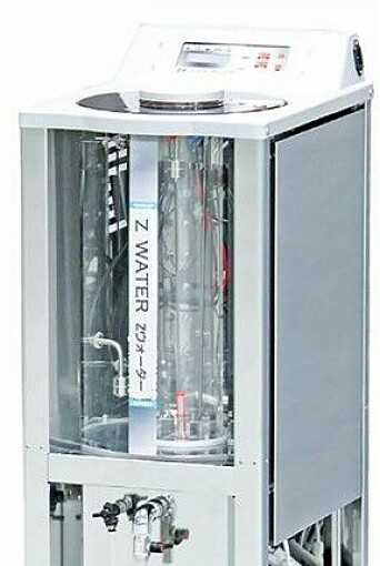 Produksjon av Z-Water.
